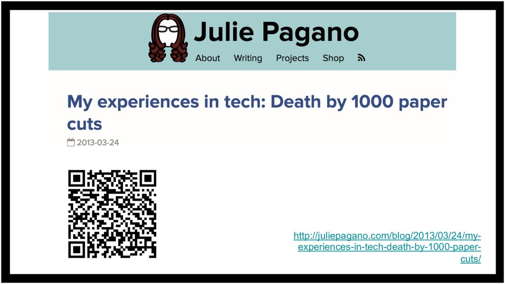 http://juliepagano.com/blog/2013/03/24/my- expe...