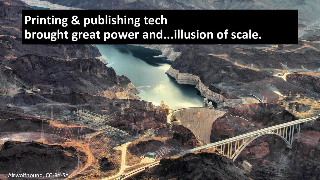 Printing & publishing tech brought great power ...