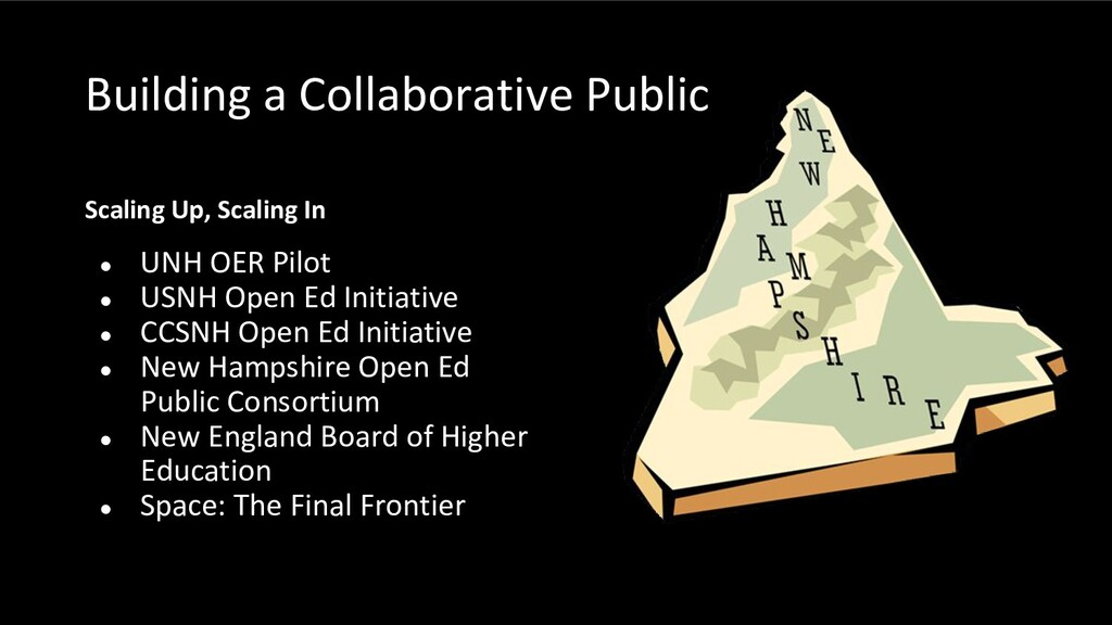 Building a Collaborative Public Scaling Up, Sca...