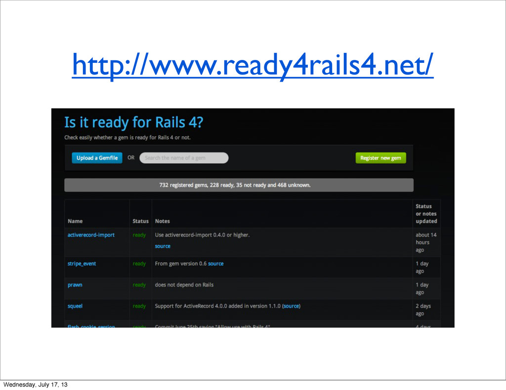 http://www.ready4rails4.net/ Wednesday, July 17...