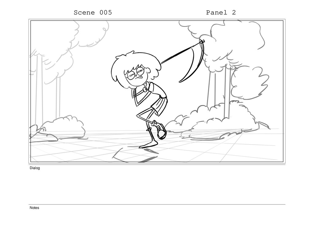 Scene 005 Panel 2 Dialog Notes