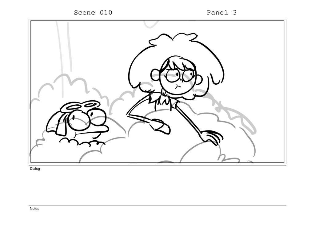 Scene 010 Panel 3 Dialog Notes