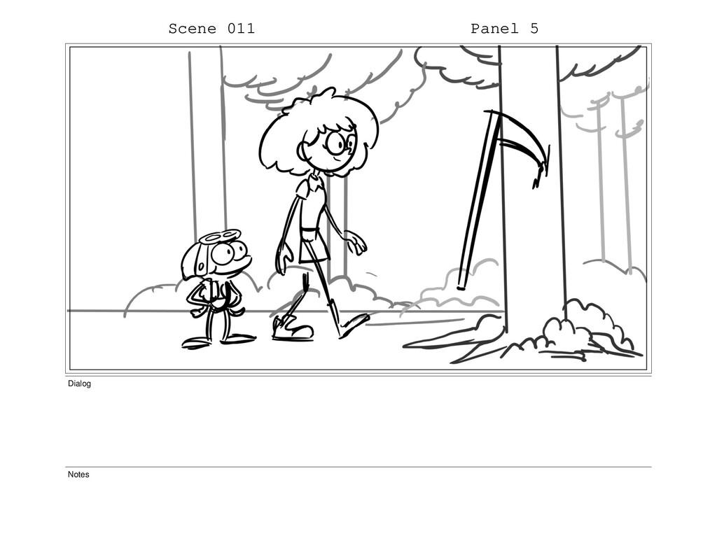 Scene 011 Panel 5 Dialog Notes