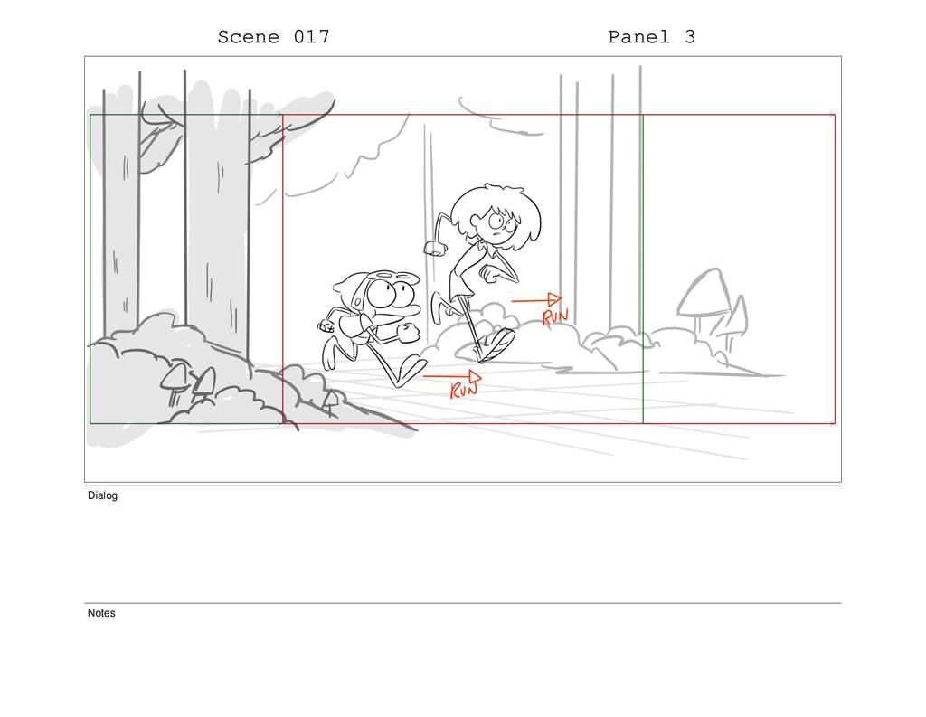 Scene 017 Panel 3 Dialog Notes