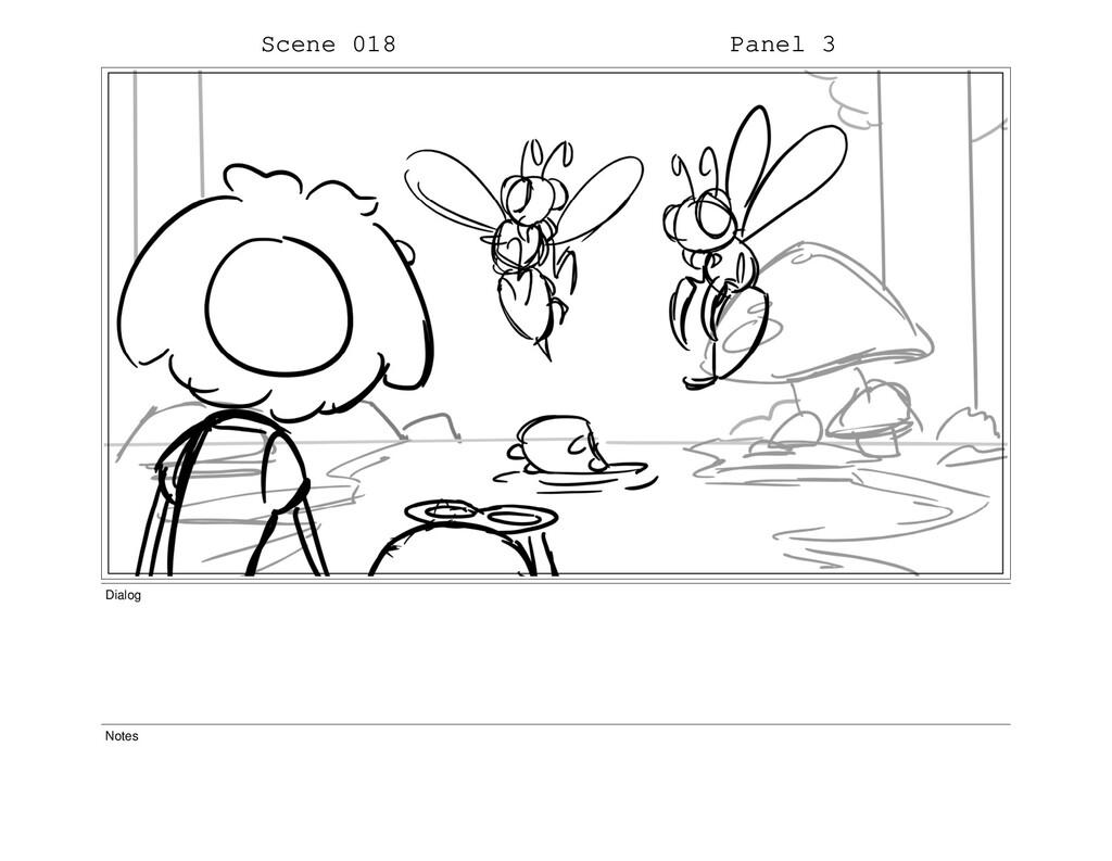 Scene 018 Panel 3 Dialog Notes