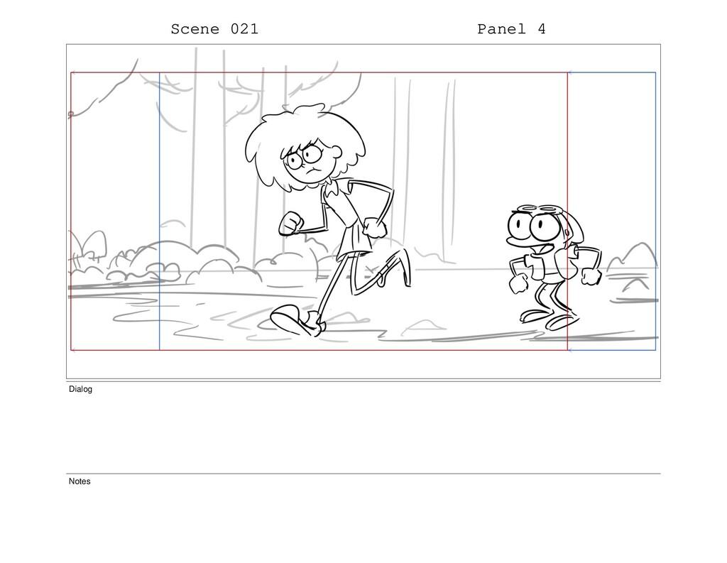 Scene 021 Panel 4 Dialog Notes