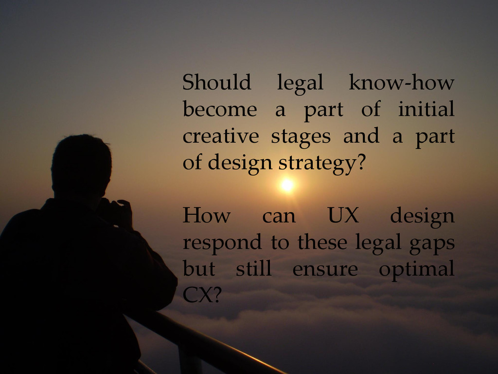 Should legal know-how become a part of initial ...