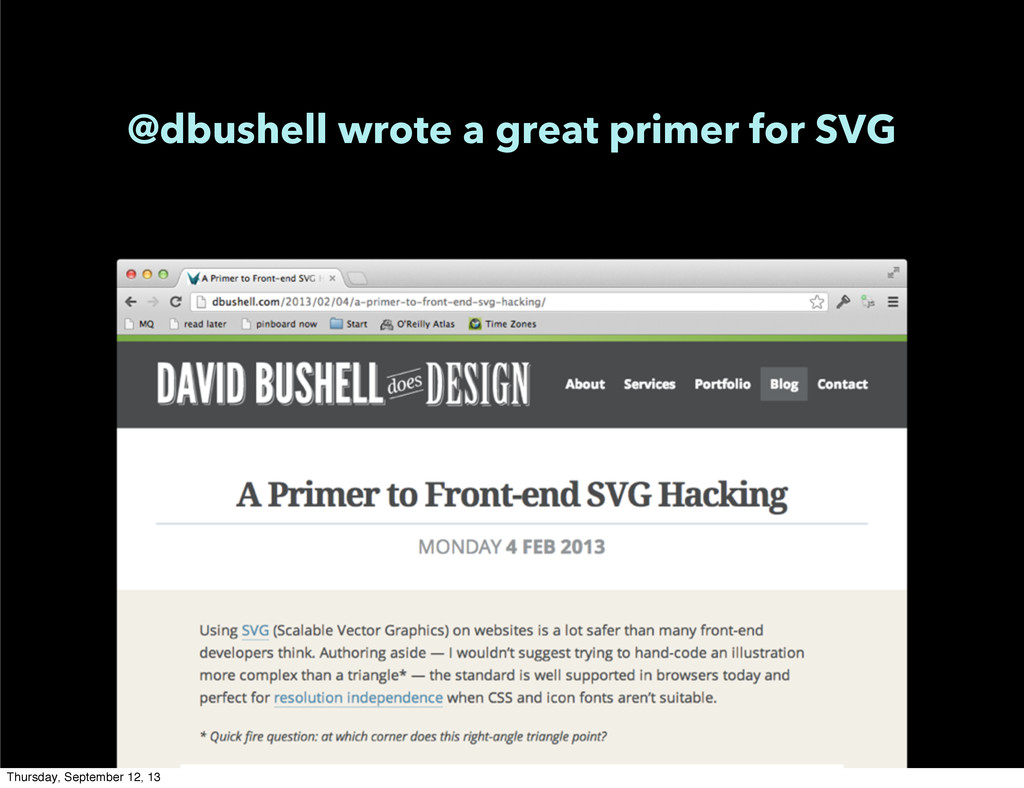 @dbushell wrote a great primer for SVG Thursday...