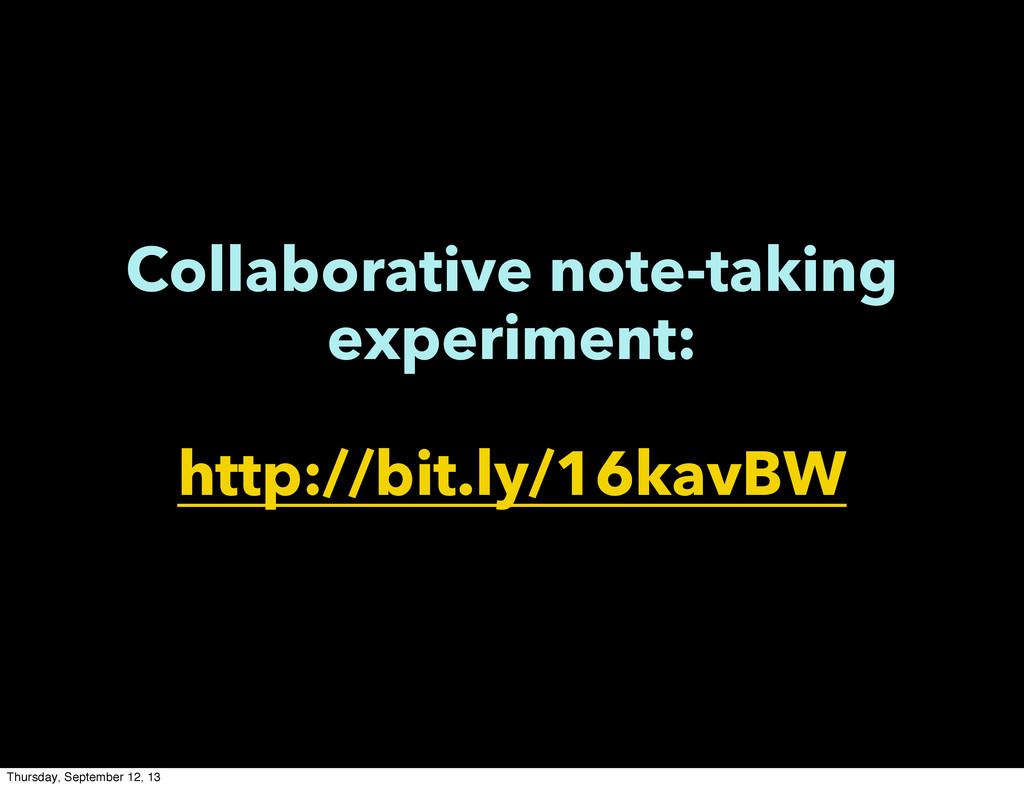 Collaborative note-taking experiment: http://bi...