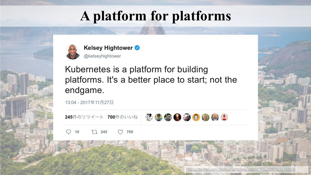 A platform for platforms https://twitter.com/ke...