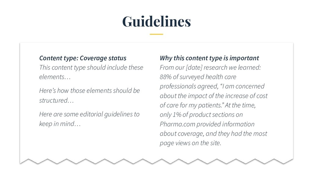 Guidelines Content type: Coverage status This c...