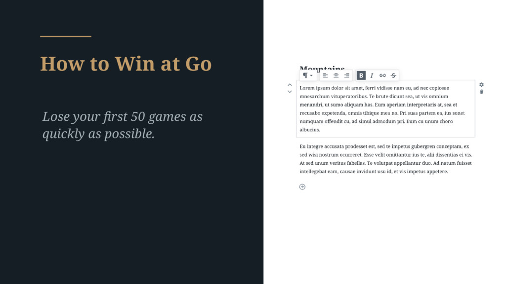 How to Win at Go Lose your first 50 games as qui...