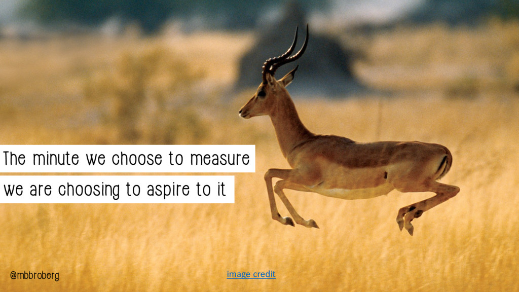 The minute we choose to measure we are choosing...