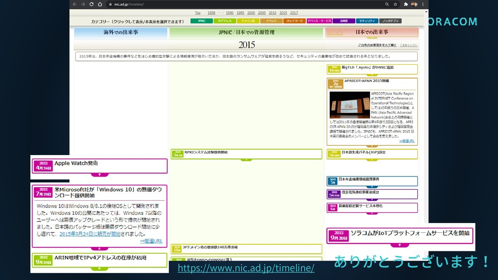 https://www.nic.ad.jp/timeline/ ありがとうございます!