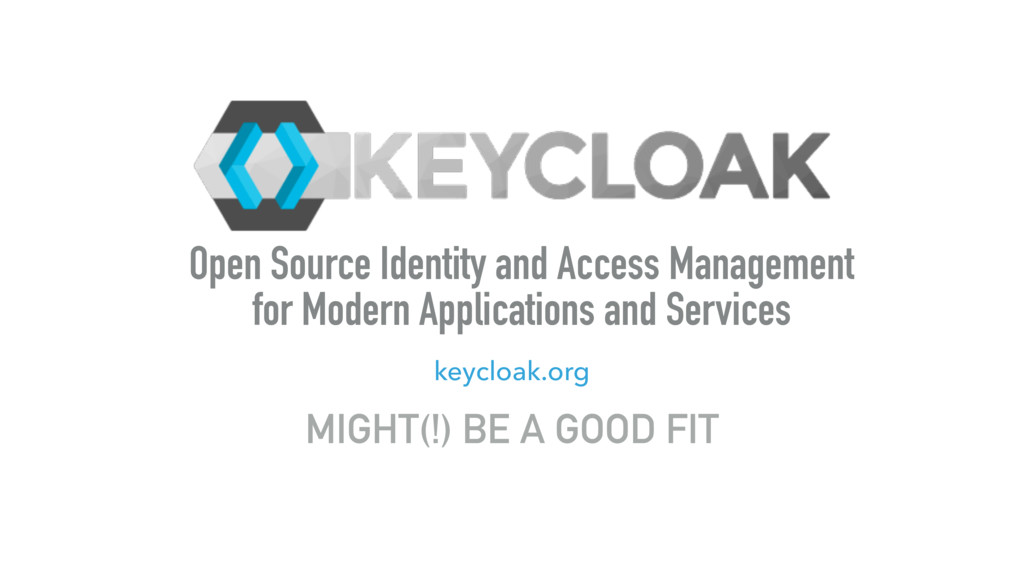 Open Source Identity and Access Management for ...