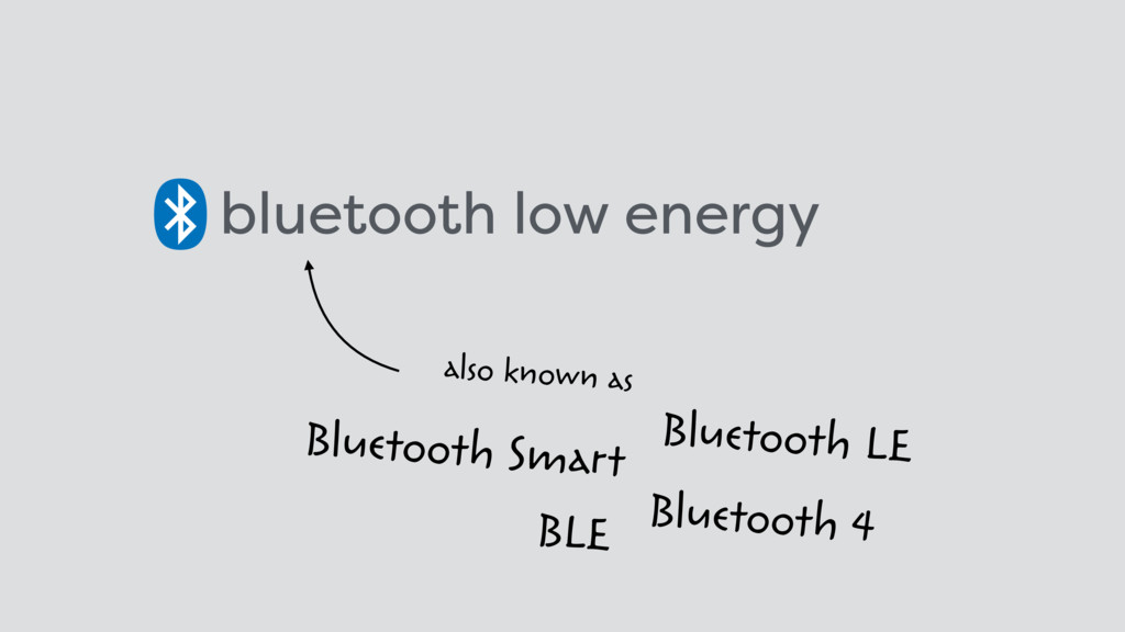 bluetooth low energy also known as BLE Bluetoot...