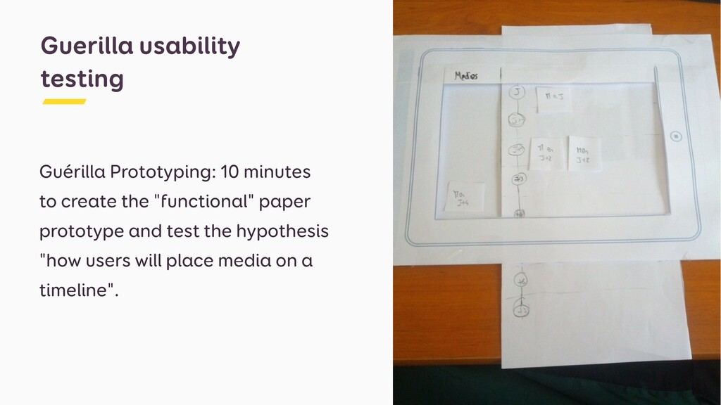 Guérilla Prototyping: 10 minutes to create the ...