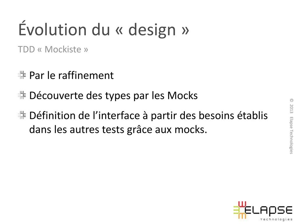 © 2013 Elapse Technologies © 2013 Elapse Techno...