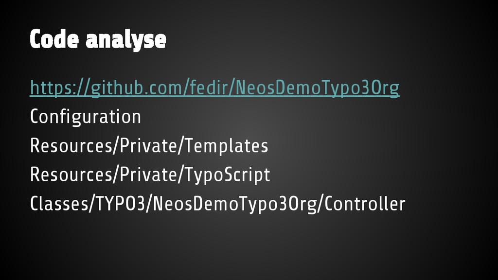 Code analyse https://github.com/fedir/NeosDemoT...