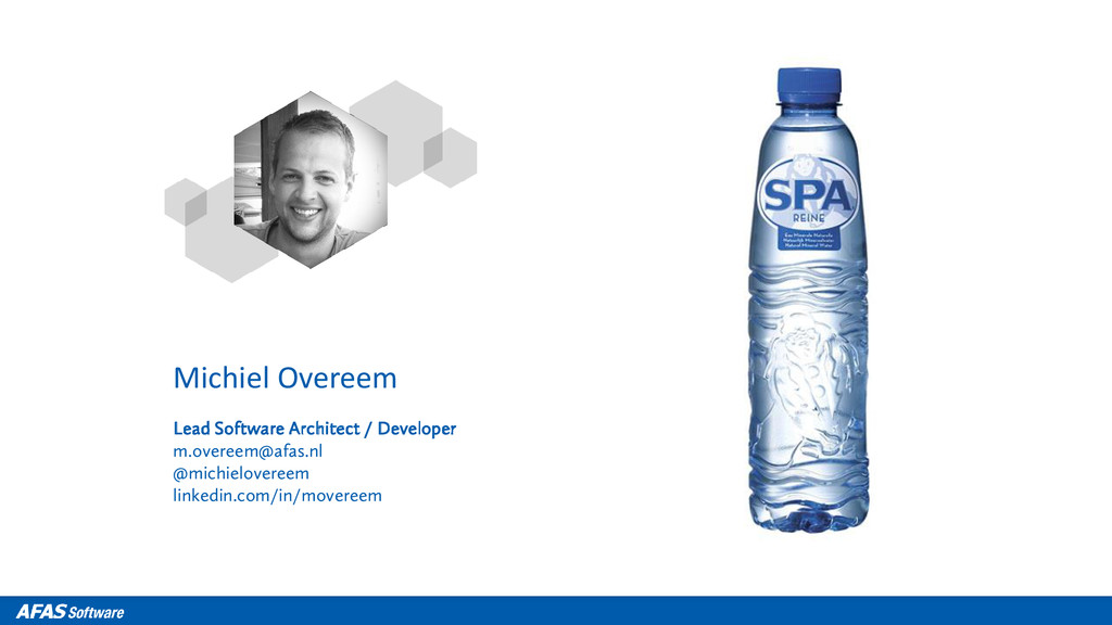 Michiel Overeem Lead Software Architect / Devel...