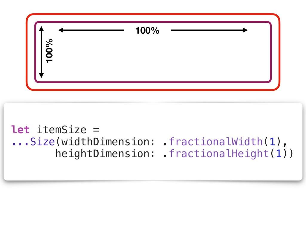 let itemSize = ...Size(widthDimension: .fractio...