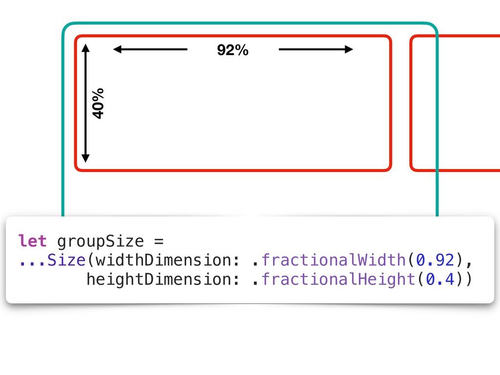 let groupSize = ...Size(widthDimension: .fracti...