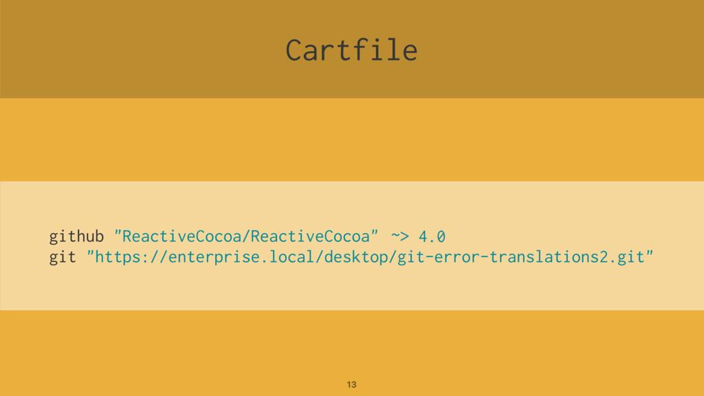 """Cartfile github """"ReactiveCocoa/ReactiveCocoa"""" g..."""