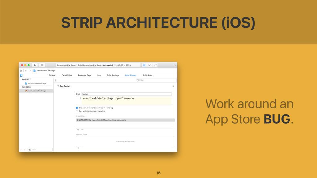 STRIP ARCHITECTURE (iOS) Work around an App Sto...