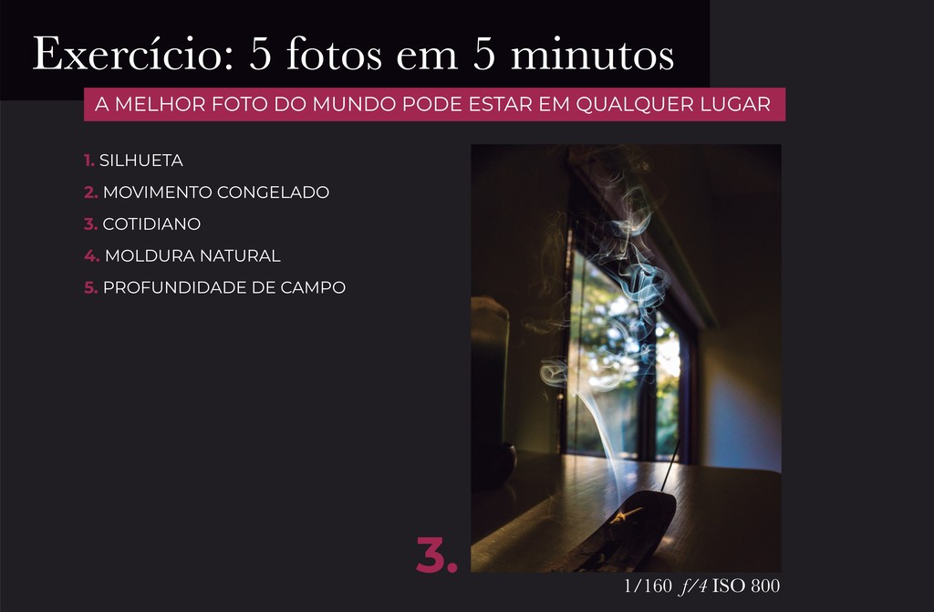 3. 1/160 f/4 ISO 800 1. SILHUETA 2. MOVIMENTO C...