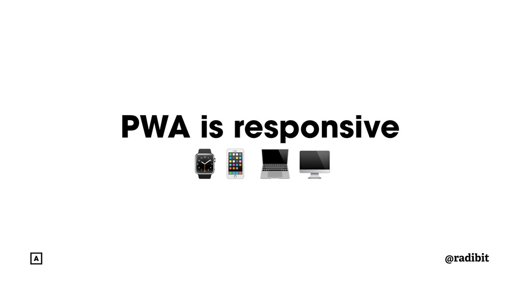 @radibit PWA is responsive