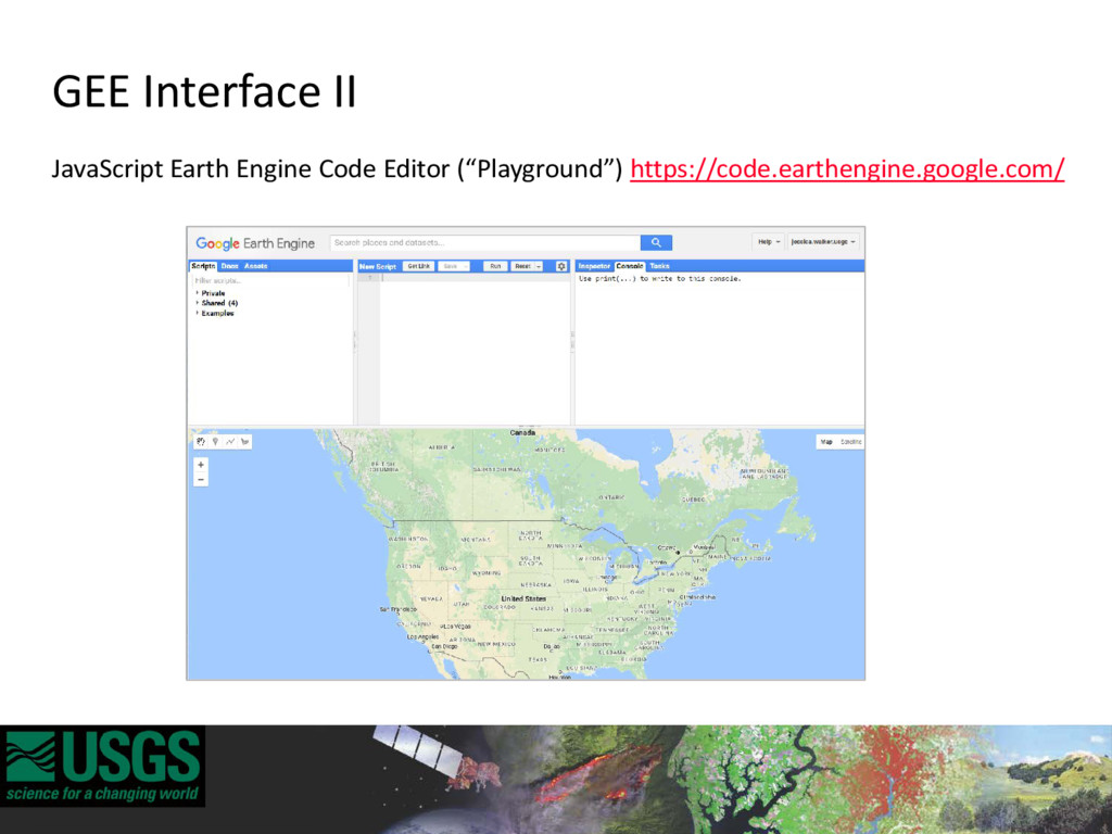 GEE Interface II JavaScript Earth Engine Code E...
