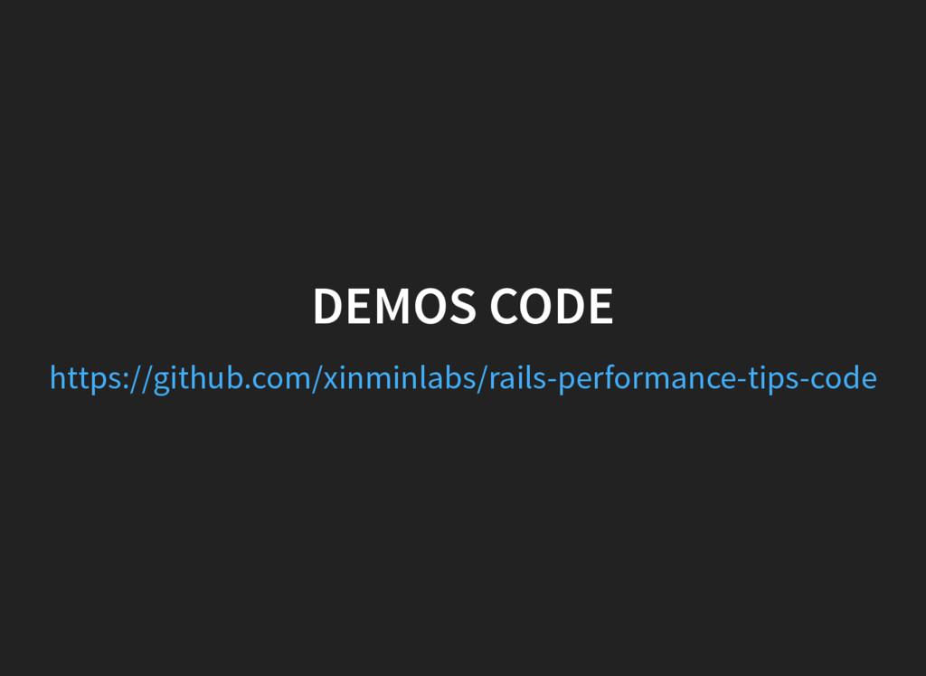 DEMOS CODE https://github.com/xinminlabs/rails-...