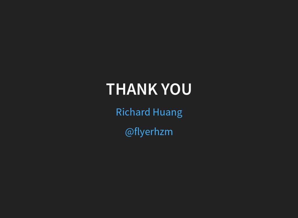 THANK YOU Richard Huang @flyerhzm