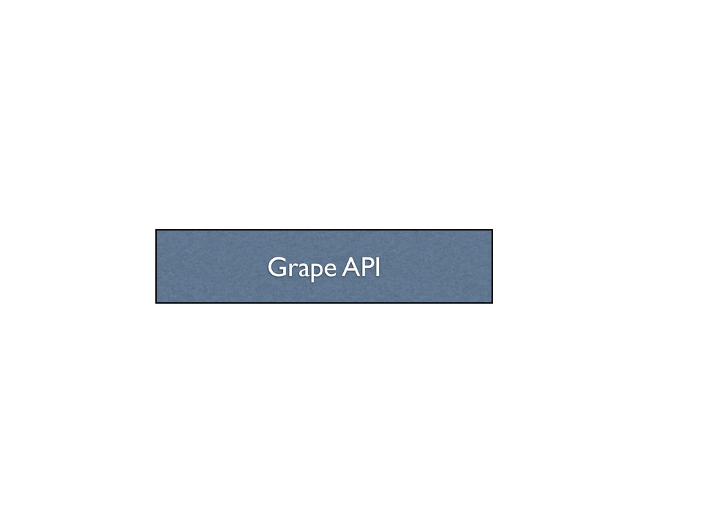 Grape API