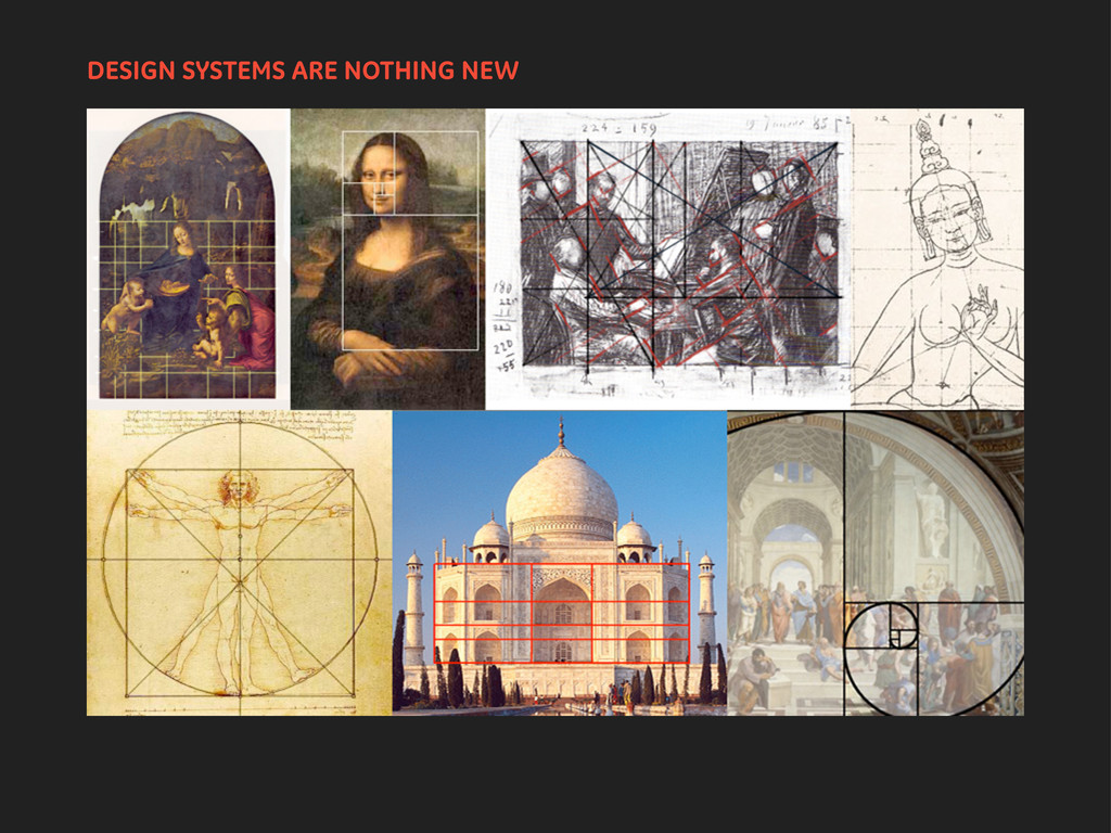 DESIGN SYSTEMS ARE NOTHING NEW