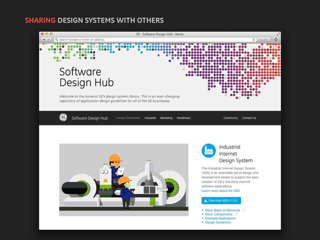 SHARING DESIGN SYSTEMS WITH OTHERS