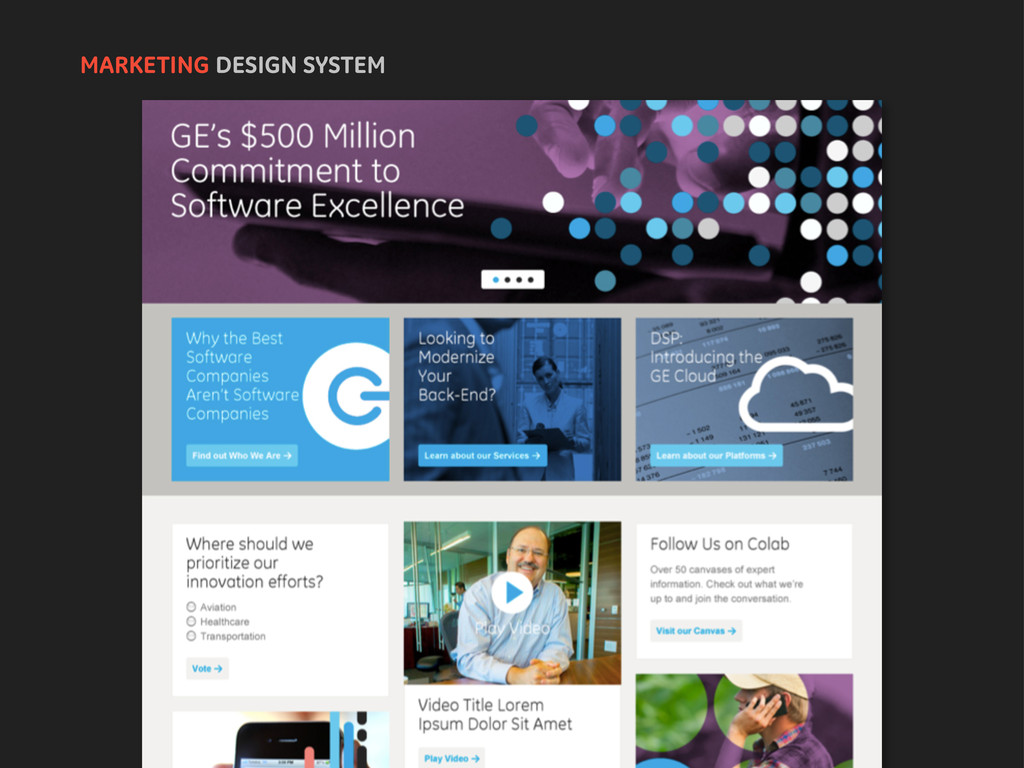 MARKETING DESIGN SYSTEM