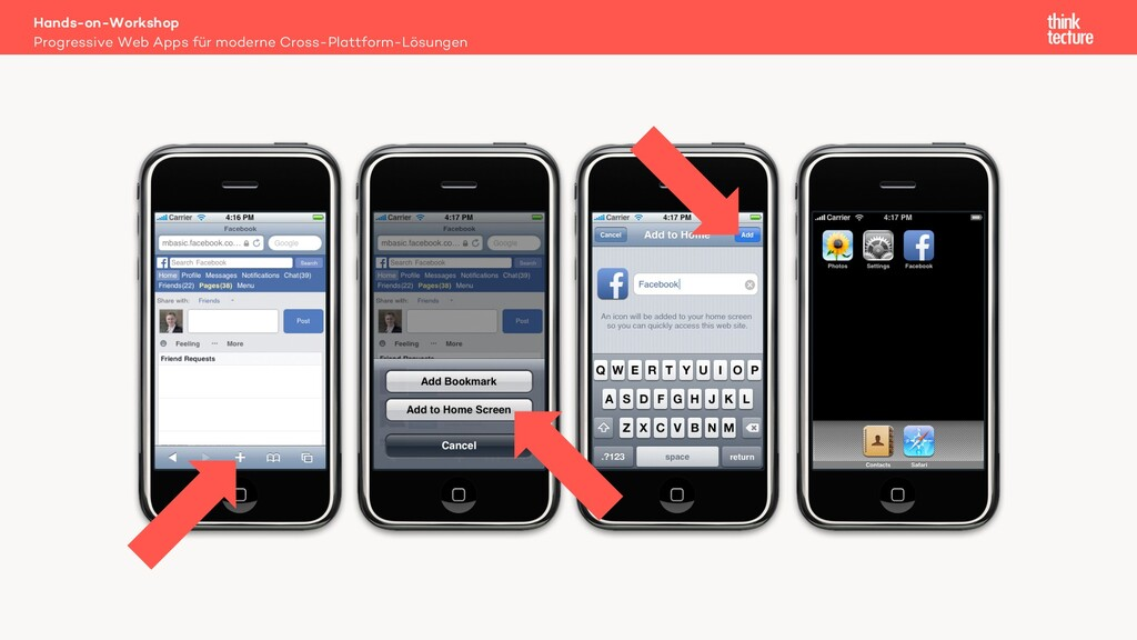 Progressive Web Apps für moderne Cross-Plattfor...