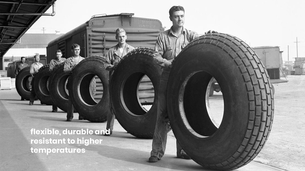 flexible, durable and resistant to higher tempe...