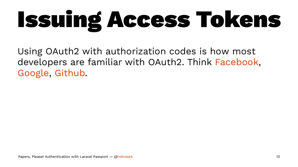 Issuing Access Tokens Using OAuth2 with authori...