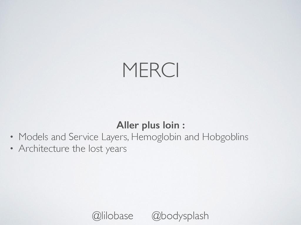 MERCI @lilobase @bodysplash Aller plus loin : •...