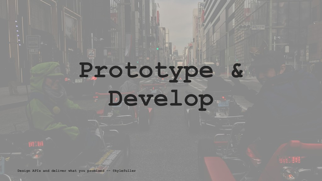 Prototype & Develop Design APIs and deliver wha...