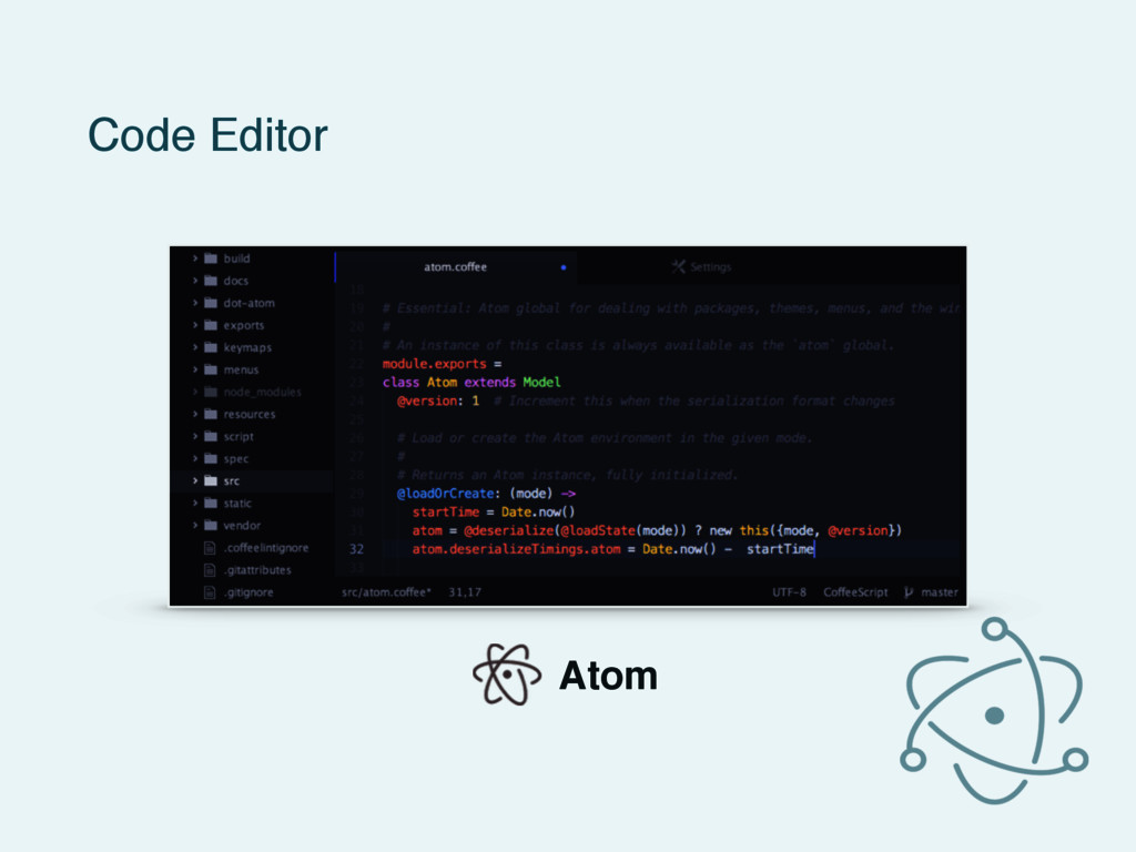 Code Editor Atom