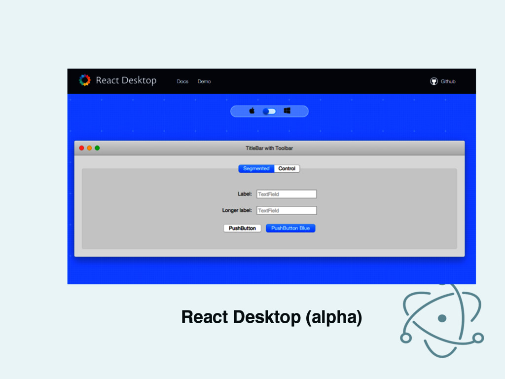 React Desktop (alpha)