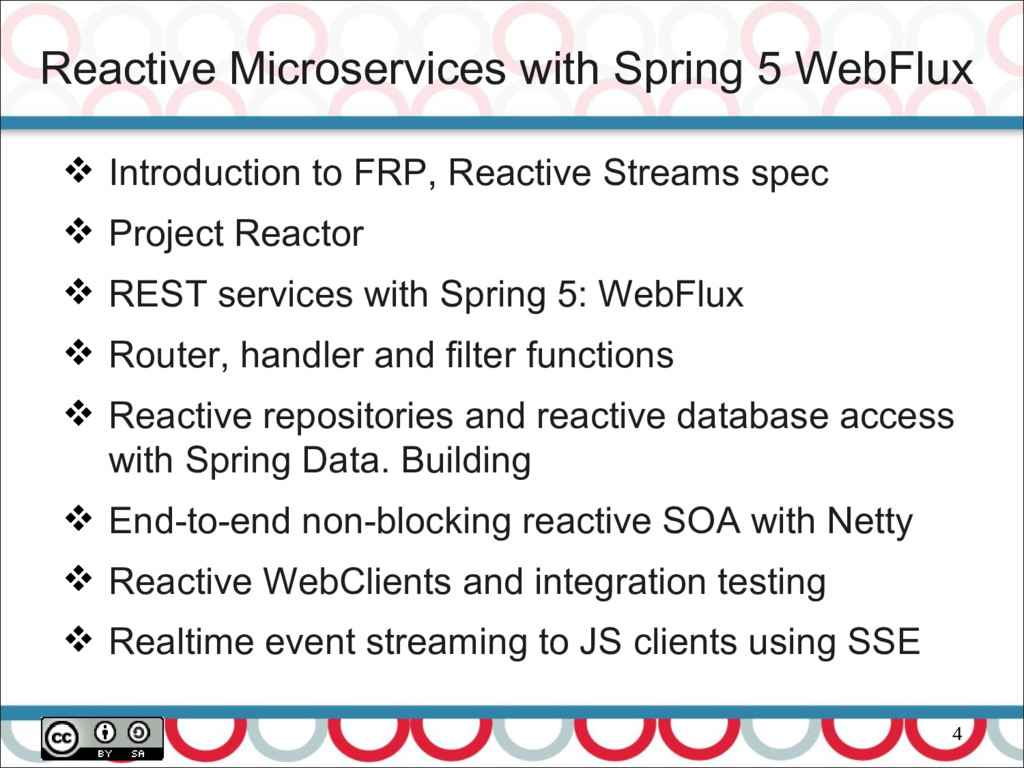 Reactive Microservices with Spring 5