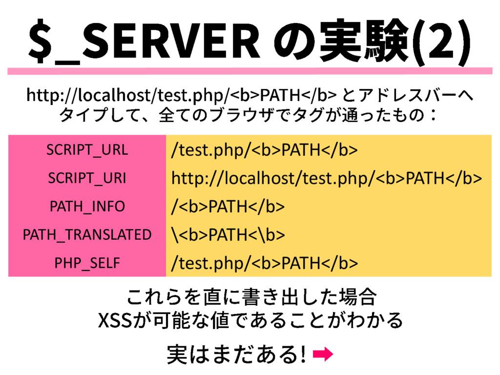 SCRIPT_URL /test.php/<b>PATH</b> SCRIPT_URI htt...