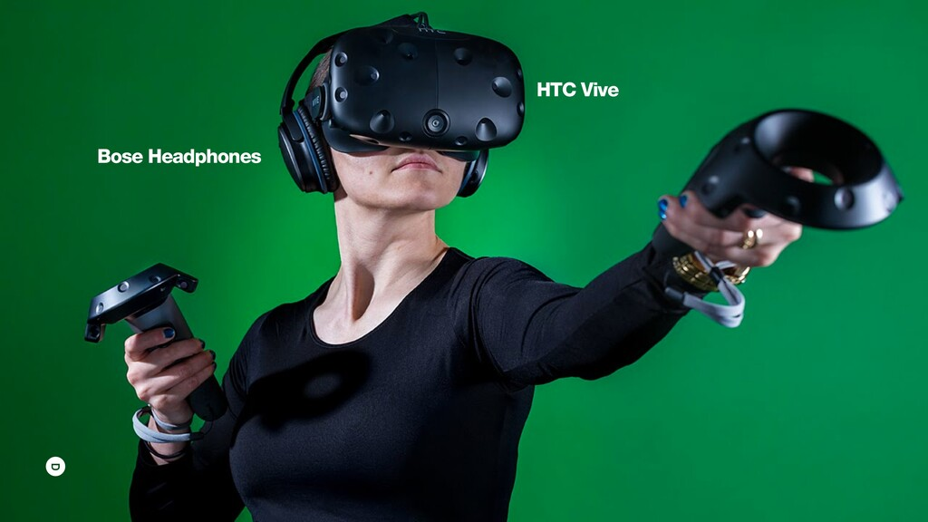 HTC Vive Bose Headphones