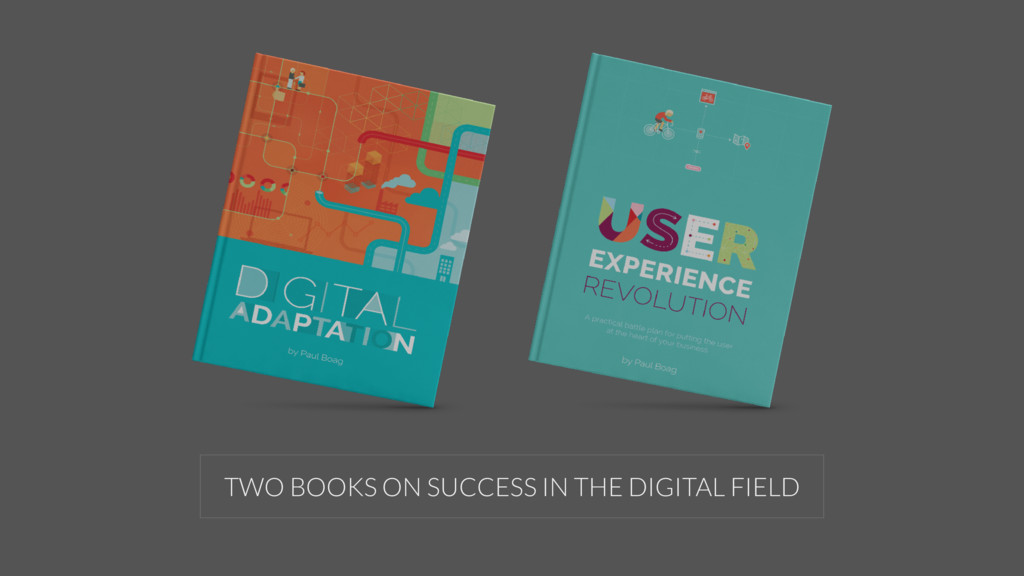 TWO BOOKS ON SUCCESS IN THE DIGITAL FIELD