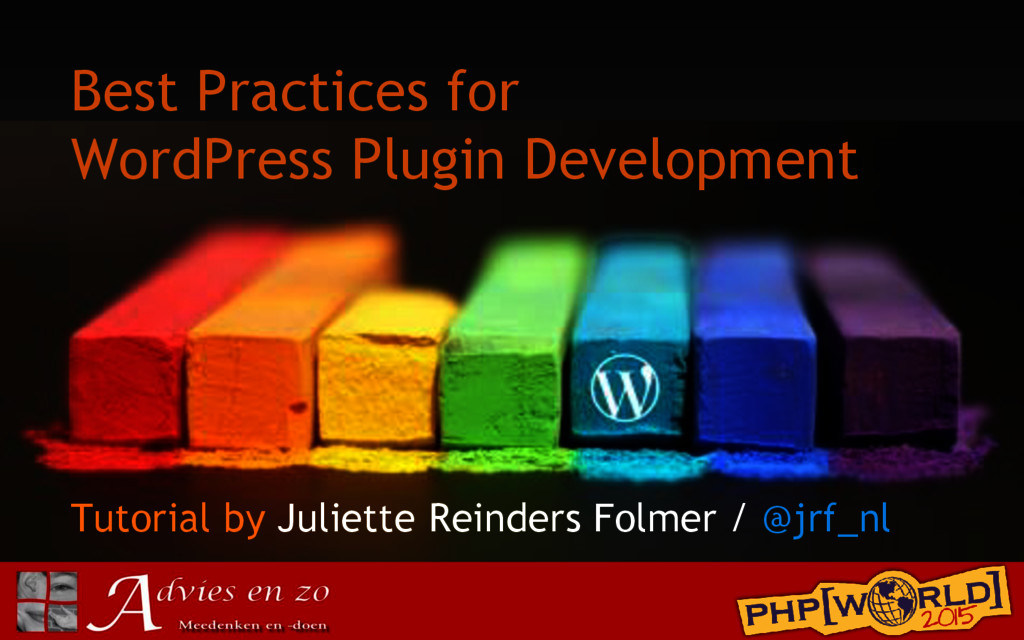 Best Practices for WordPress Plugin Development...