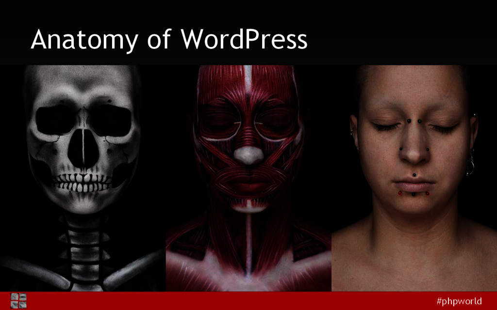 #phpworld Anatomy of WordPress